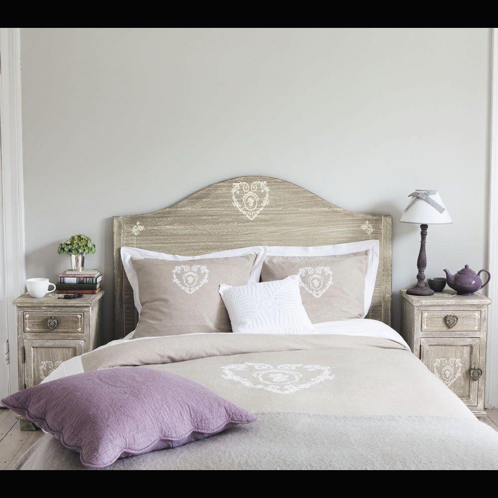 dco tte de lit 140cm camille maison du monde - Maison Du Monde Chambre