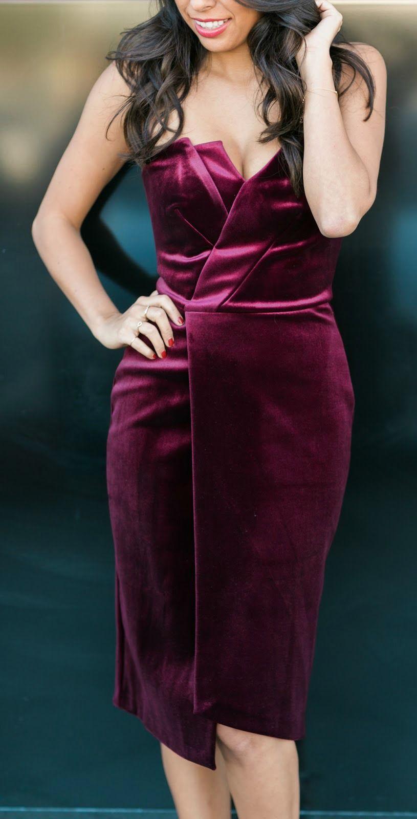 Look for less velvet dress on the hunt - New Year S Eve Dress Idea Velvet 5 Of The Best Velvet Dresses Under 100