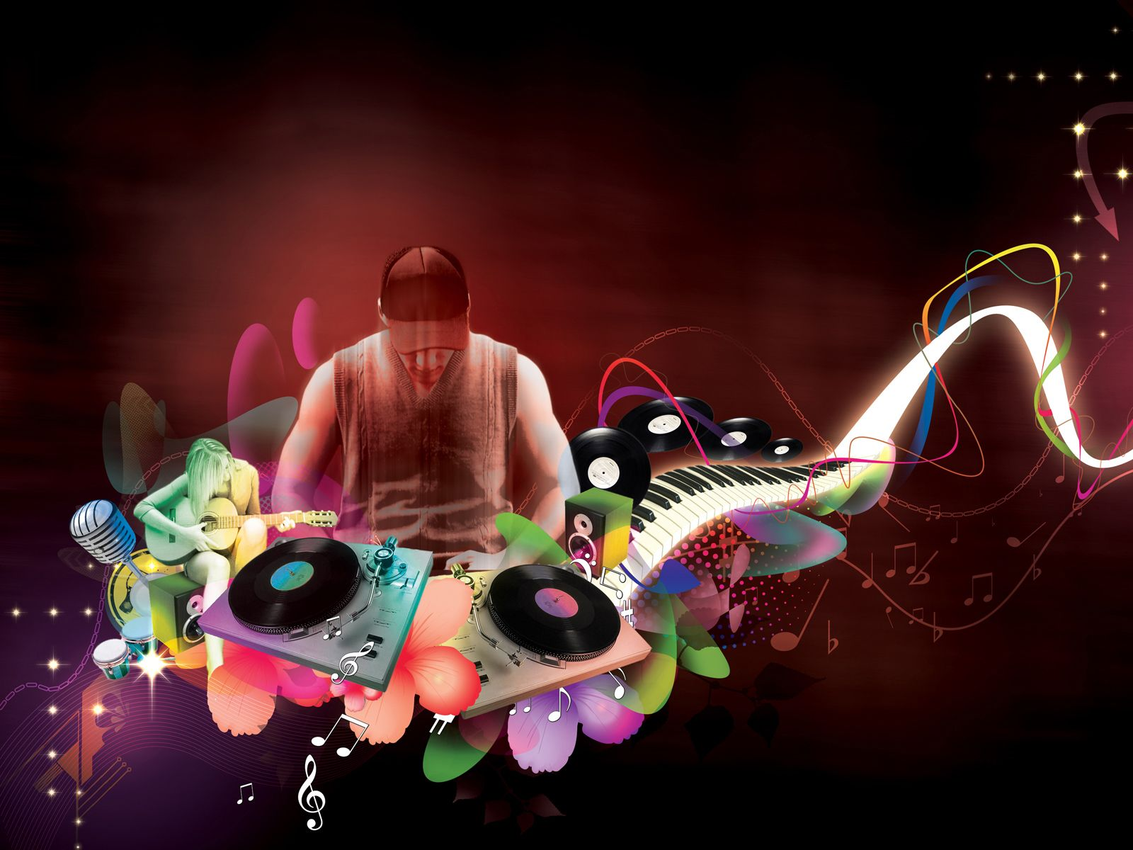 Music Music Dj Wallpaper Background 1600 X 1200 Id 70991