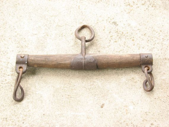 Vintage Horse Yoke Oxen Yoke Plow Harness, Single Tree Harness ...