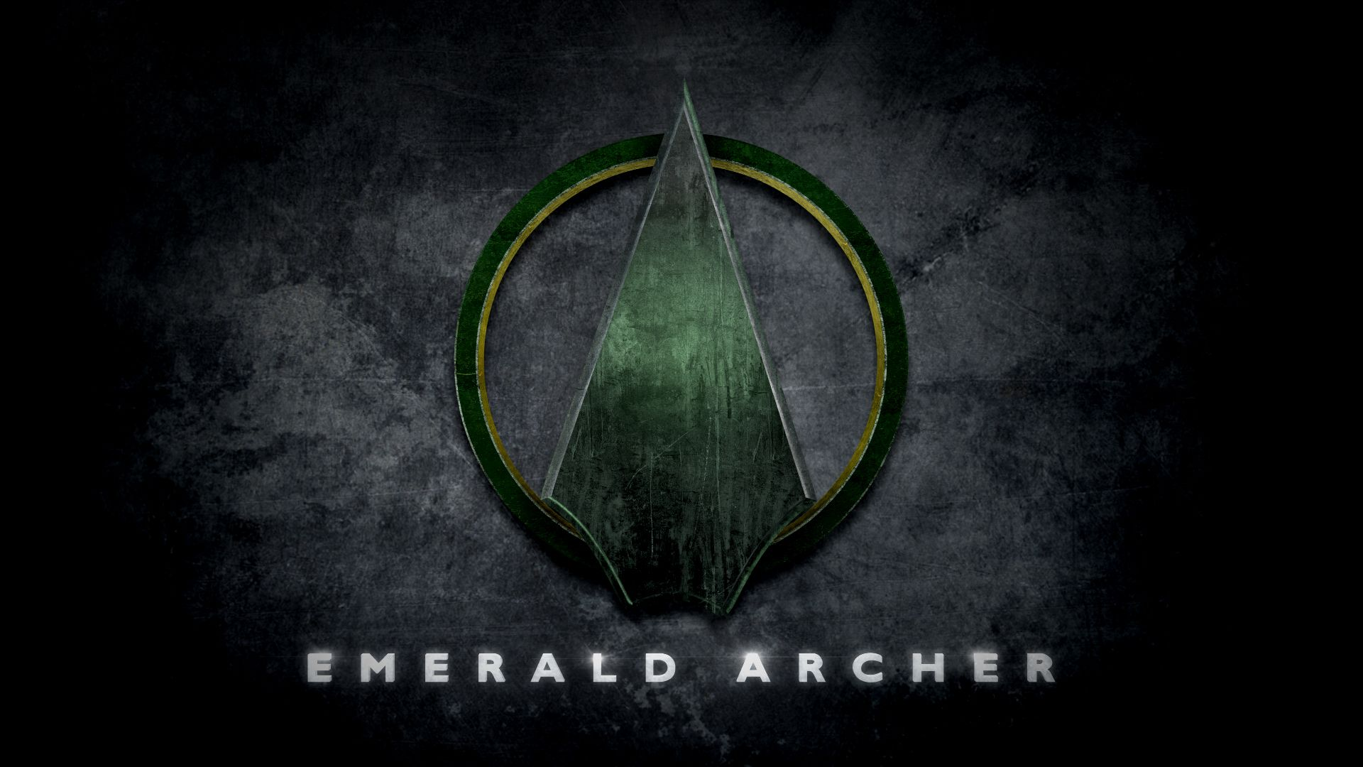 Green arrow emerald archer logo in the style of man of steel green arrow emerald archer logo in the style of man of steel voltagebd Gallery