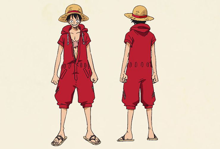 One Piece Character Outfit For Episode Of Luffy Adventure On Hand Island One Piece Luffy Luffy Outfits One Piece Manga