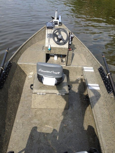 Console Idea Power Drifter Sled Stealthcraft Boats Fishing