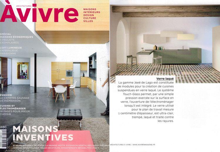 Nos cuisines design 36e8 dans le numéro d\u0027octobre d\u0027Architectures à - plan d une maison simple