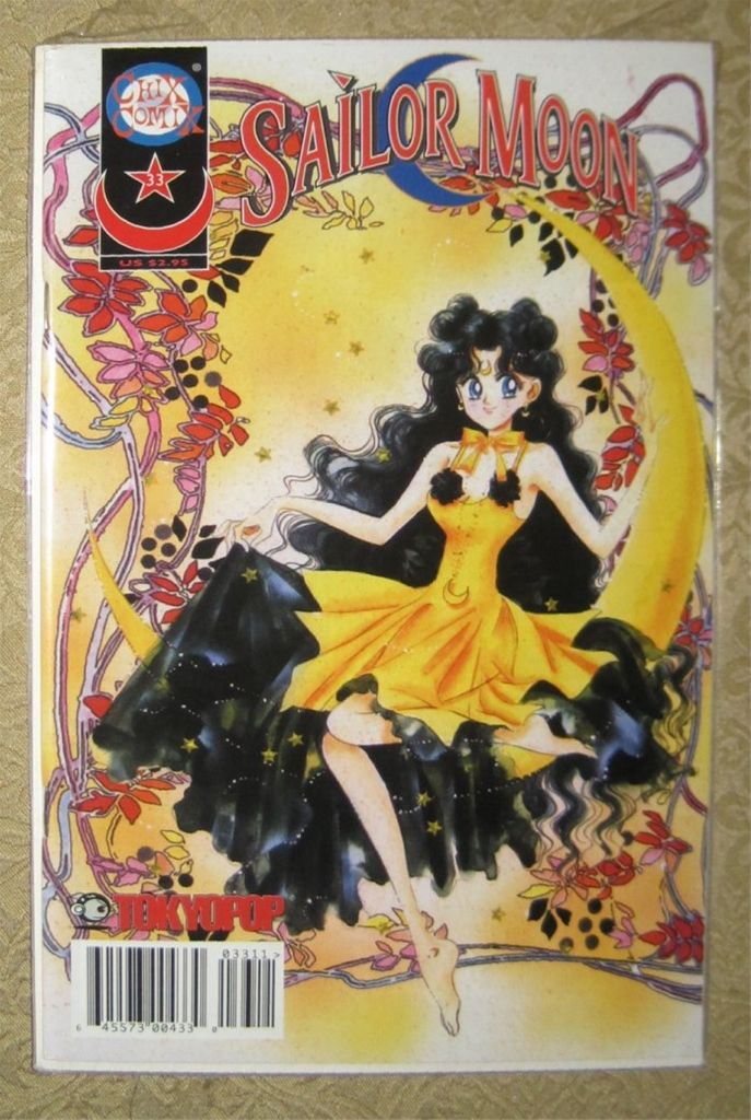 Sailor Moon Manga English Single Issue Comic 33 Human Luna Cover In Near Mint Condition