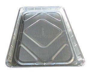 1 2 Half Size Sheet Cake Disposable Aluminum Foil Baking Pan Tray Tins 20 Pack Aluminum Baking Pans Baking Pans Sheet Cake
