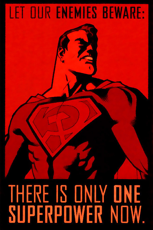 Superman Red Son By Dave Johnson Superman Red Son Dc Comics Art Superman