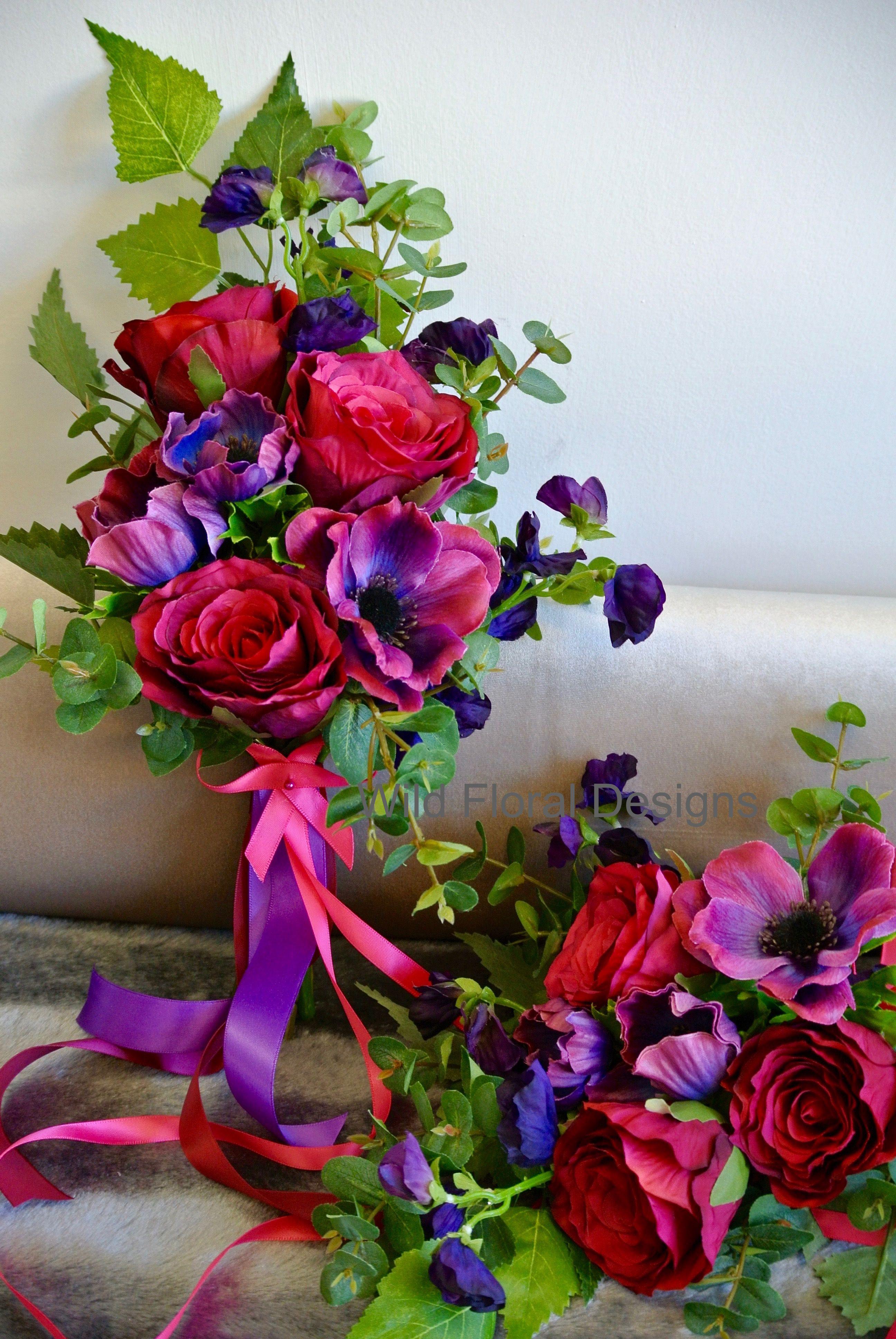 Silk Artificial Wedding Flowers Torquay Devon Uk Faux