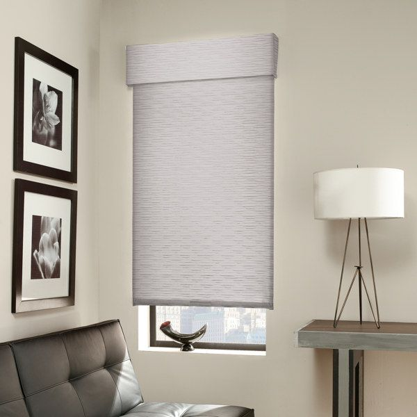 Outside Mount Roller Shade With Valance Like This Idea For Black Out Option In Kids Rooms