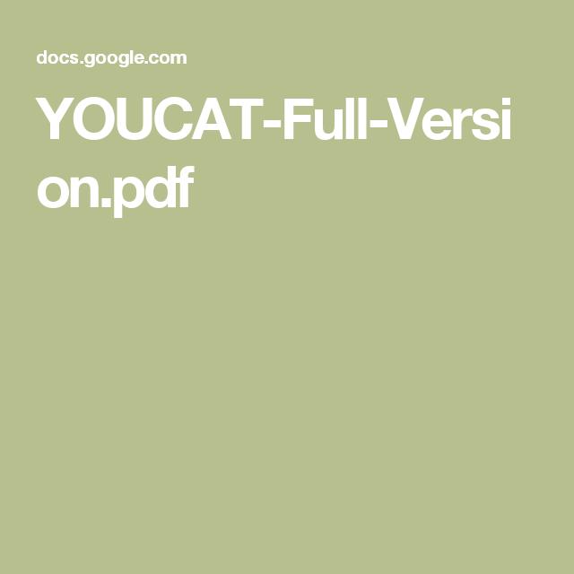 youcat pdf