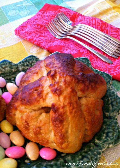 Portuguese Easter Bread #Sunday Supper @Christianne Marra Crump Foodie