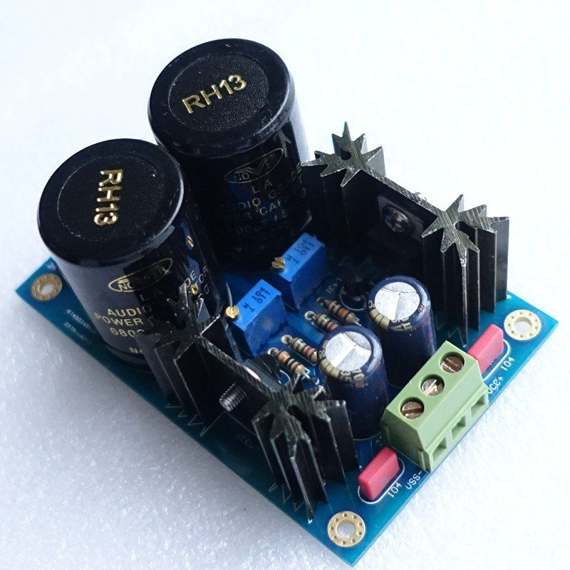 LM317 LM337 + TL431 High Precision Low Noise Linear