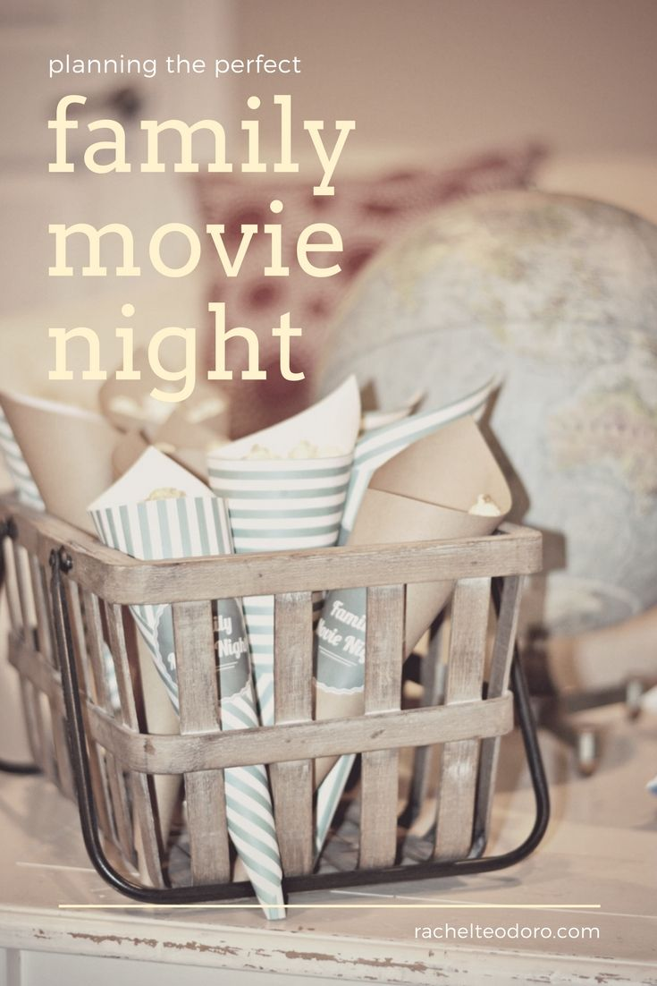 5 Tips for Planning the Perfect Family Movie Night