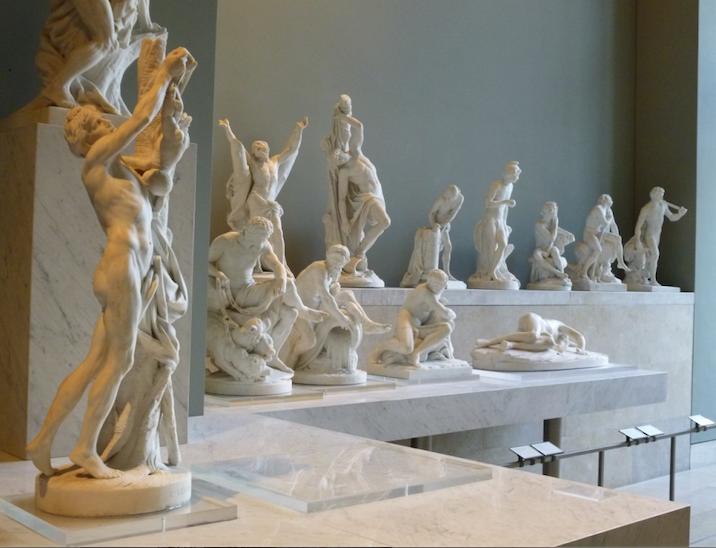 musee-du-louvre-pieces-de-reception-sculpture. Musée du Louvre, Paris.