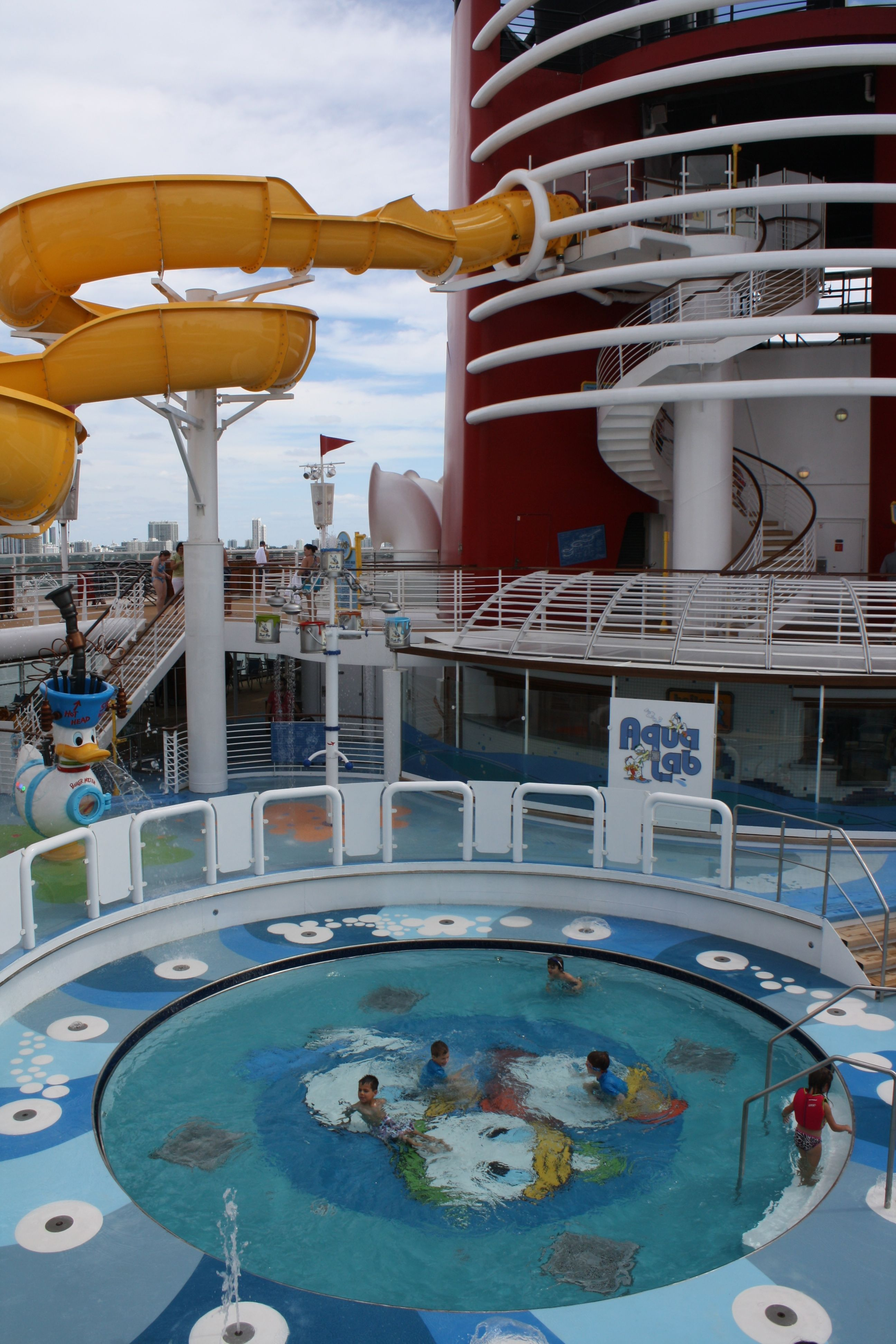 Pool Areas Aboard The Disney Magic Cruise Ship: Kids Pool Area On The Disney Magic