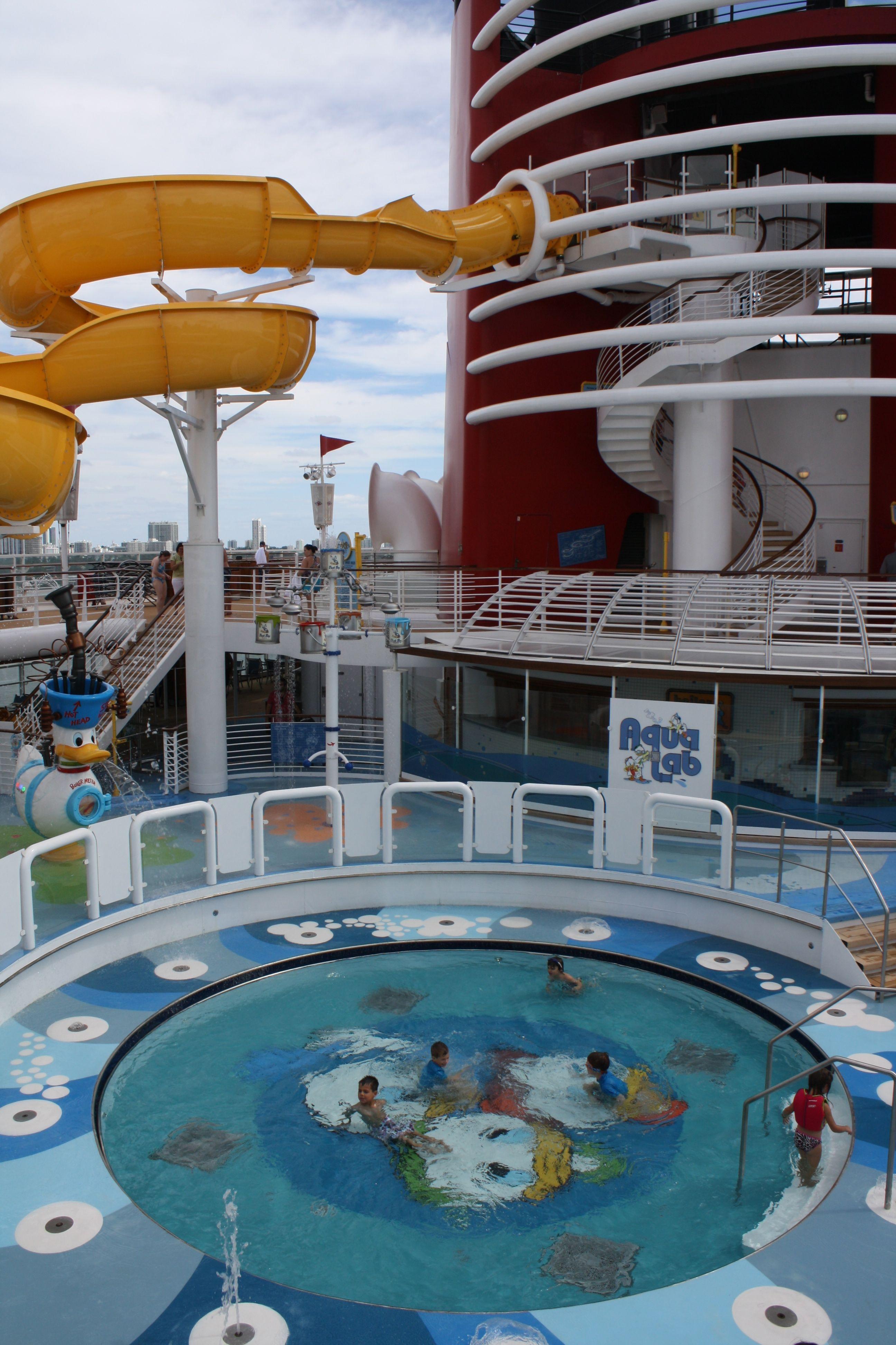Kids Pool Area On The Disney Magic