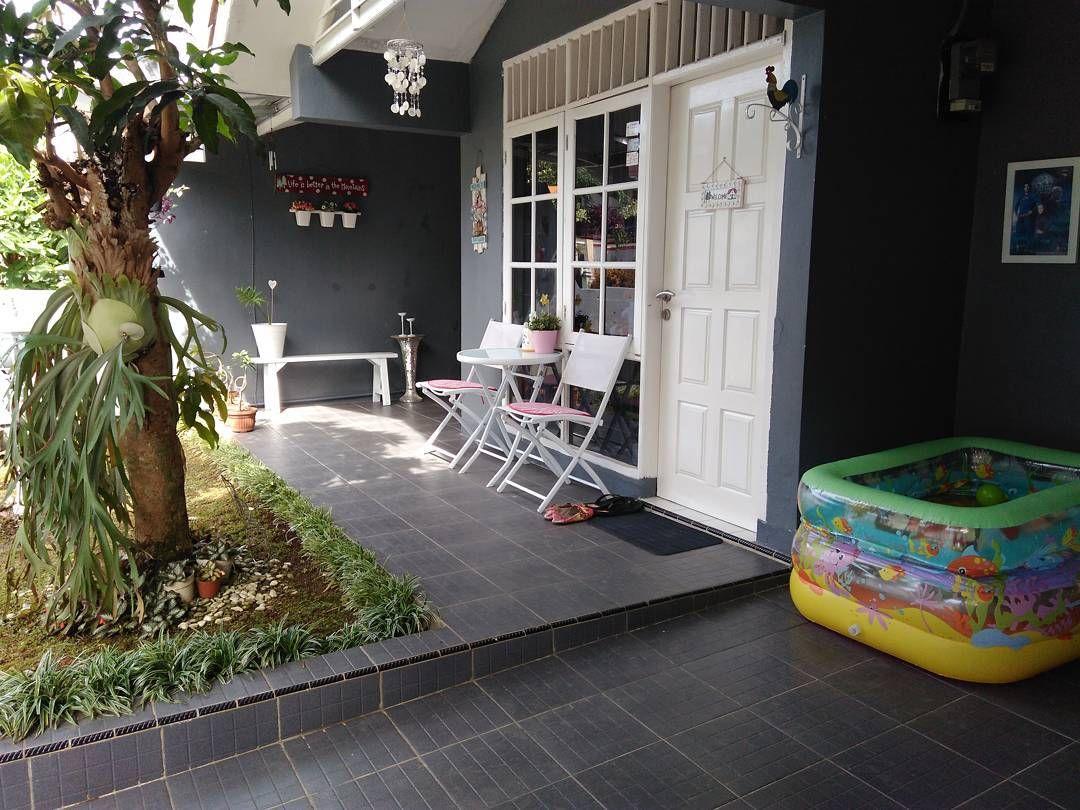 Keramik Teras Rumah Minimalis 2017 Rumah Minimalis Rumah Home Deco