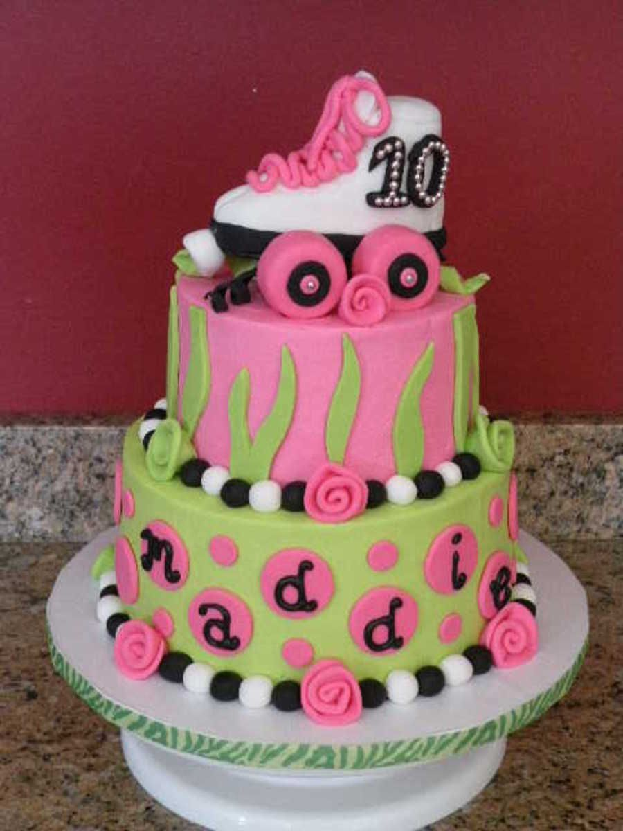 For my daughters roller skating birthday party Designed by the