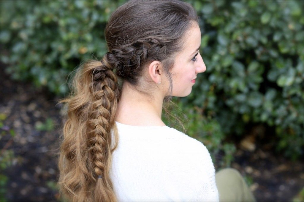 Hairstyles For Prom Cgh : Viking braid ponytail cute girls hairstyles