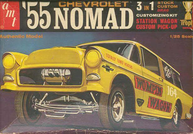 Vintage Model Car Box Art Fosil Fueled Fosil Fueled Model