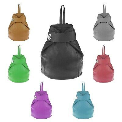 Photo of ❤️ITALYSHOP24.COM❤️ ITAL DAMEN LEDER RUCKSACK Freizeit Lederrucksack Sch…