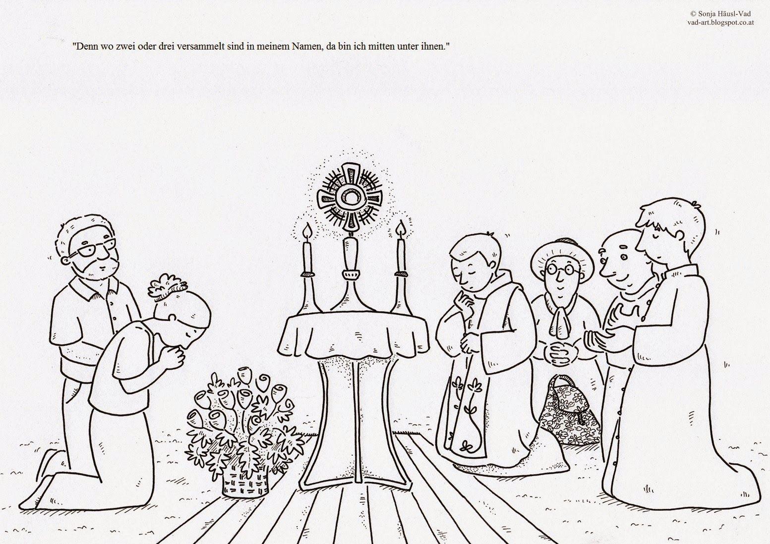 Ausmalbilder zur Bibel | Fronleichnam in 2018 | Pinterest | die ...
