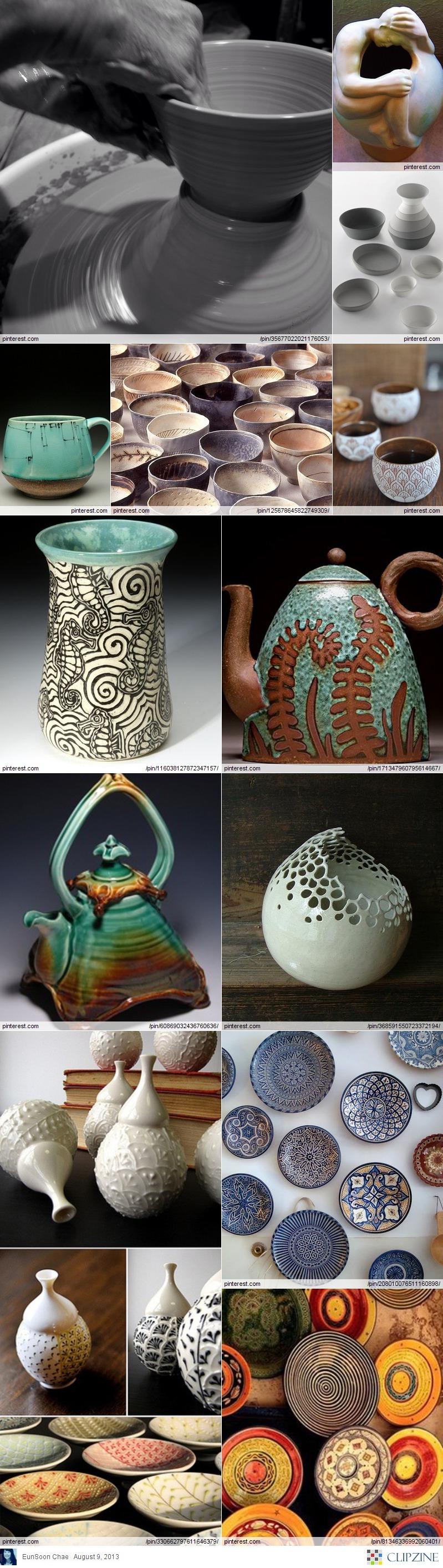 pottery ideas ceramic pinterest poterie vase en c ramique et raku. Black Bedroom Furniture Sets. Home Design Ideas