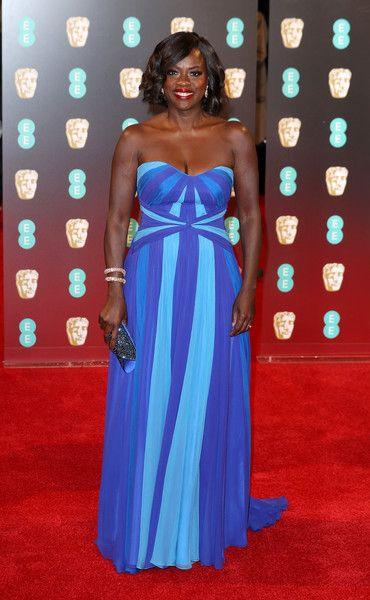 Viola Davis attends the 70th EE British Academy Film Awards (BAFTA) at Royal Albert Hall on February 12, 2017 in London, England.