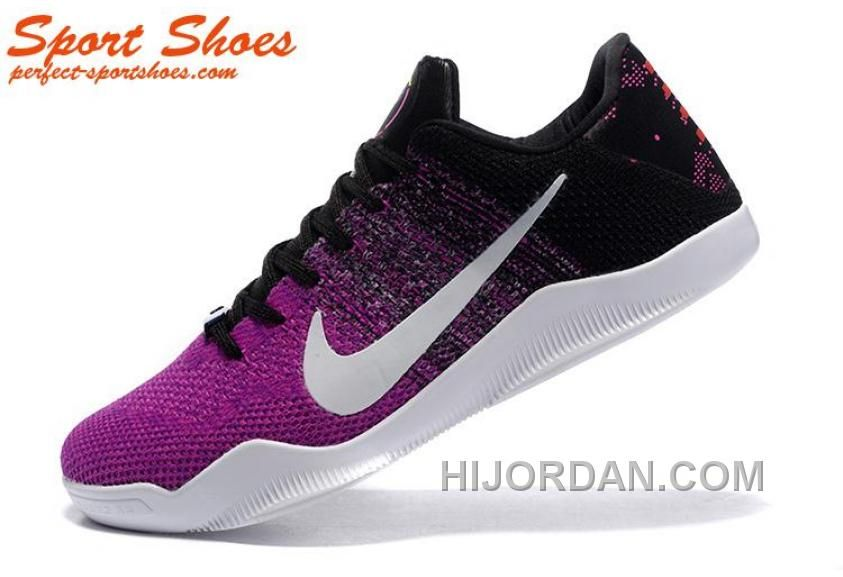 official photos 3d647 f7867 2016 Nike Kobe 11 XI Elite Low Mens Basketball Shoes Hyper Grape/Black/University  Gold/White Sneakers 822675-510, Price: $159.00 - Air Jordan Shoes, ...