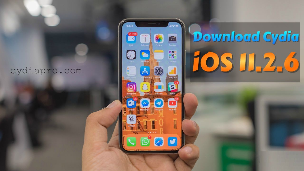 Only way to Download Cydia iOS 11.2.6 and below Iphone