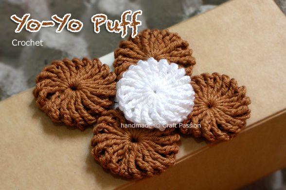 YoYo Puff - Free Crochet Pattern & Tutorial | Omas häkelquadrate ...