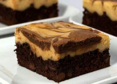 Pb cheesecake brownies