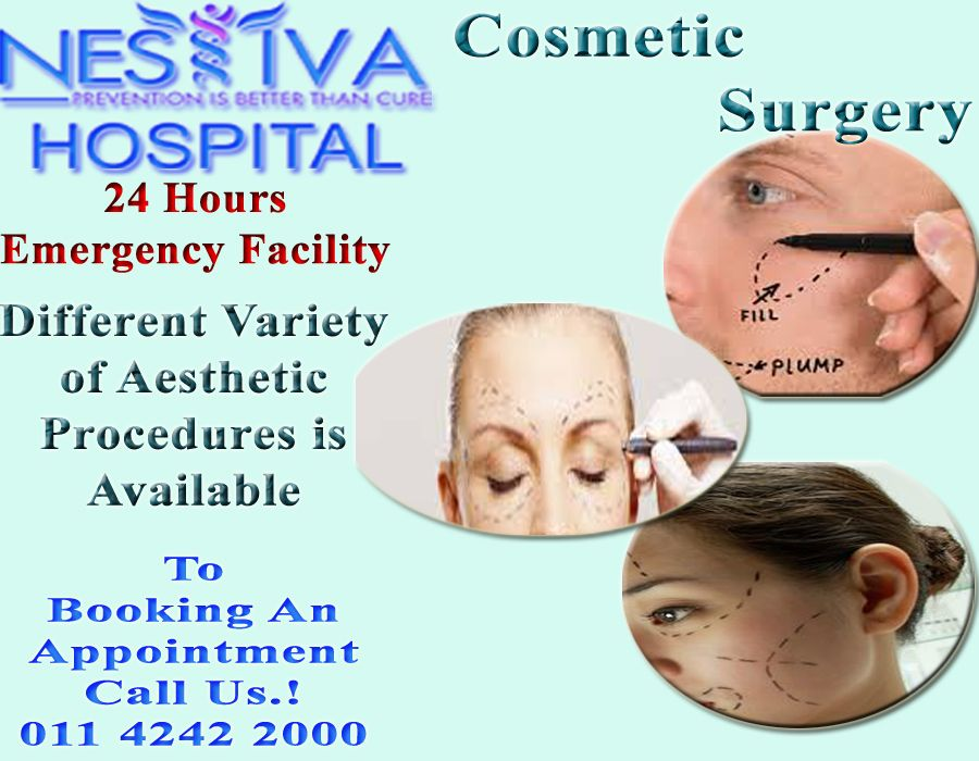 Cosmetics Surgery in Delhi