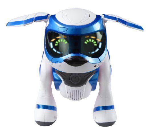 Robot Chien Teksta Puppy Bleu Chien Robot Jouet Chien
