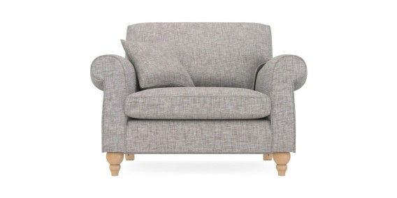 Surprising Buy Ashford Snuggle Seat 2 Seats Boucle Blend Light Dove Creativecarmelina Interior Chair Design Creativecarmelinacom