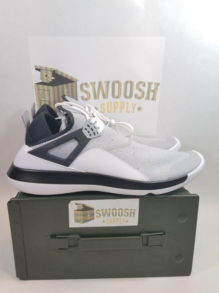 43bb8cc69f95d6 Nike Jordan Fly  89 Wolf Grey Black White Cement Lunarlon 940267 013 Size  14 New  Nike  AthleticSneakers