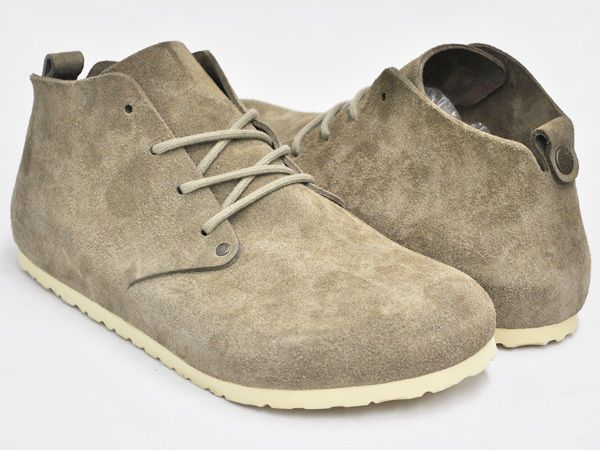 BIRKENSTOCK NEW Women's Casual Boots Shoes Dundee in Suede Taupe 37 6 # Birkenstock #Boots