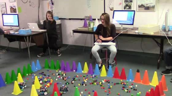 mBot – Wasteland Game – 7th Grade – South Meadow Middle School