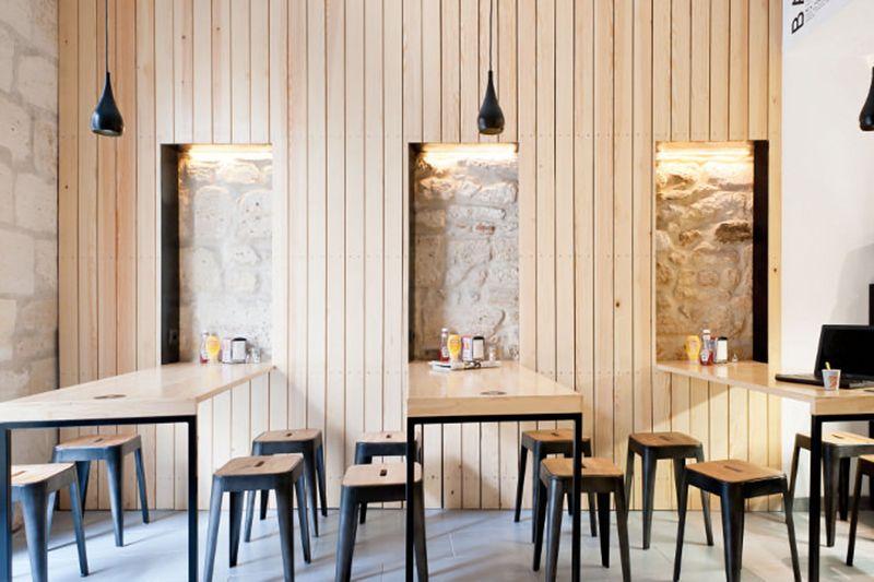 Restaurant bordeaux o petit en k par le studio hekla restaurant caf h tel am nagement - Meubles asiatiques bordeaux ...