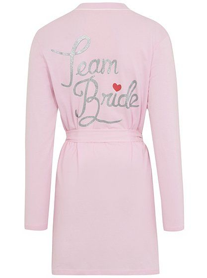 Team Bride Dressing Gown Read Reviews And Buy Online At George At