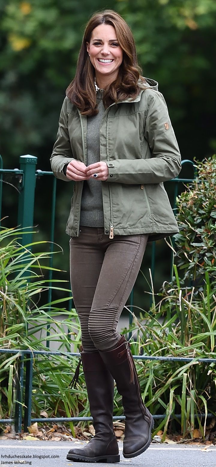 10/2/2018 Sayers Croft Forest School - The Duchess of Cambridge made her much-anticipated return to royal duties today, with a visit toSayers Croft Forest School and Wildlife Gardenat Paddington Recreation Ground.