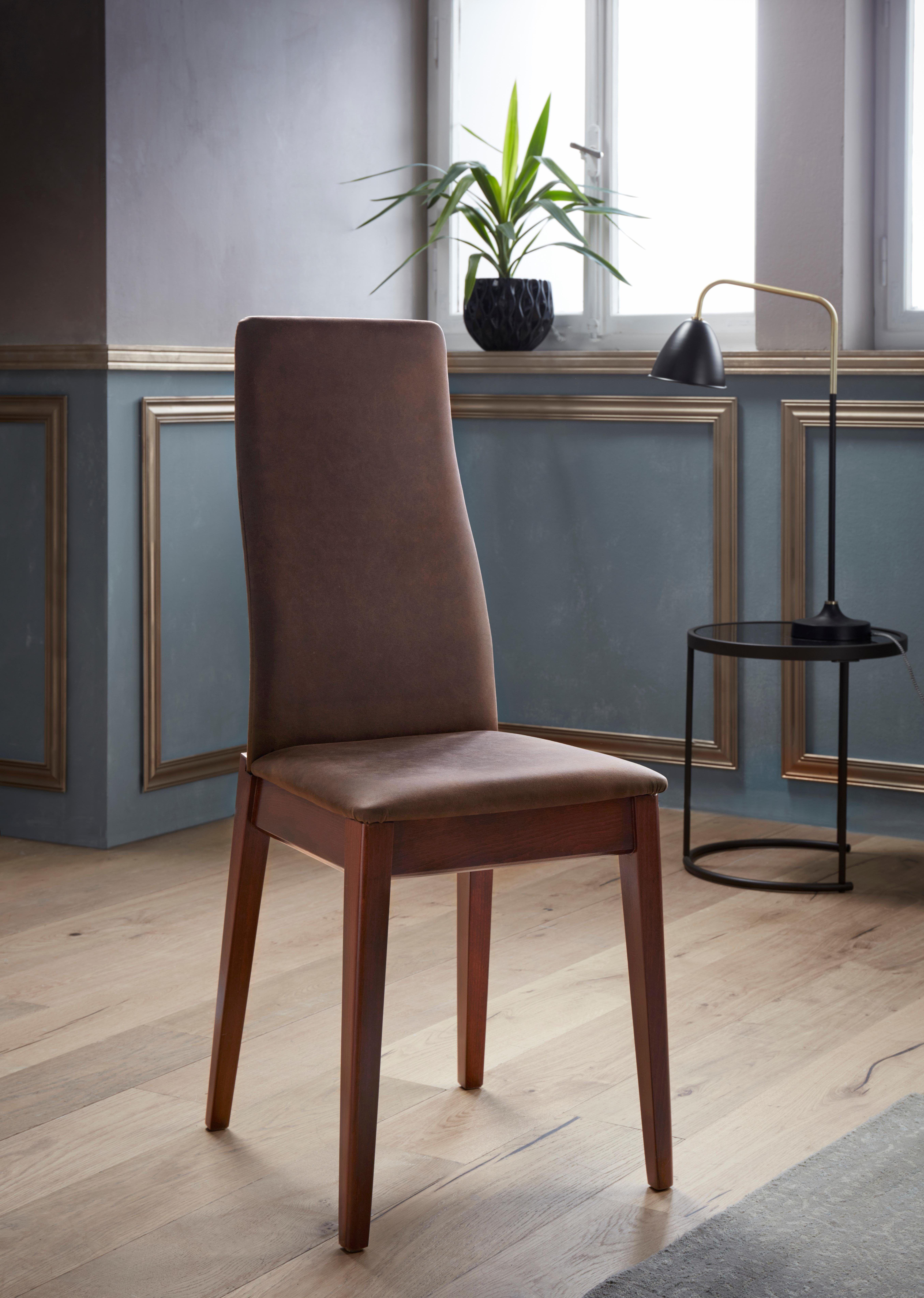 Brilliant Polster Esszimmerstühle Foto Von Polster-stuhl Braun, Dunkelbraun, »milanoÂ«, Fsc®-zertifiziert, Places Of