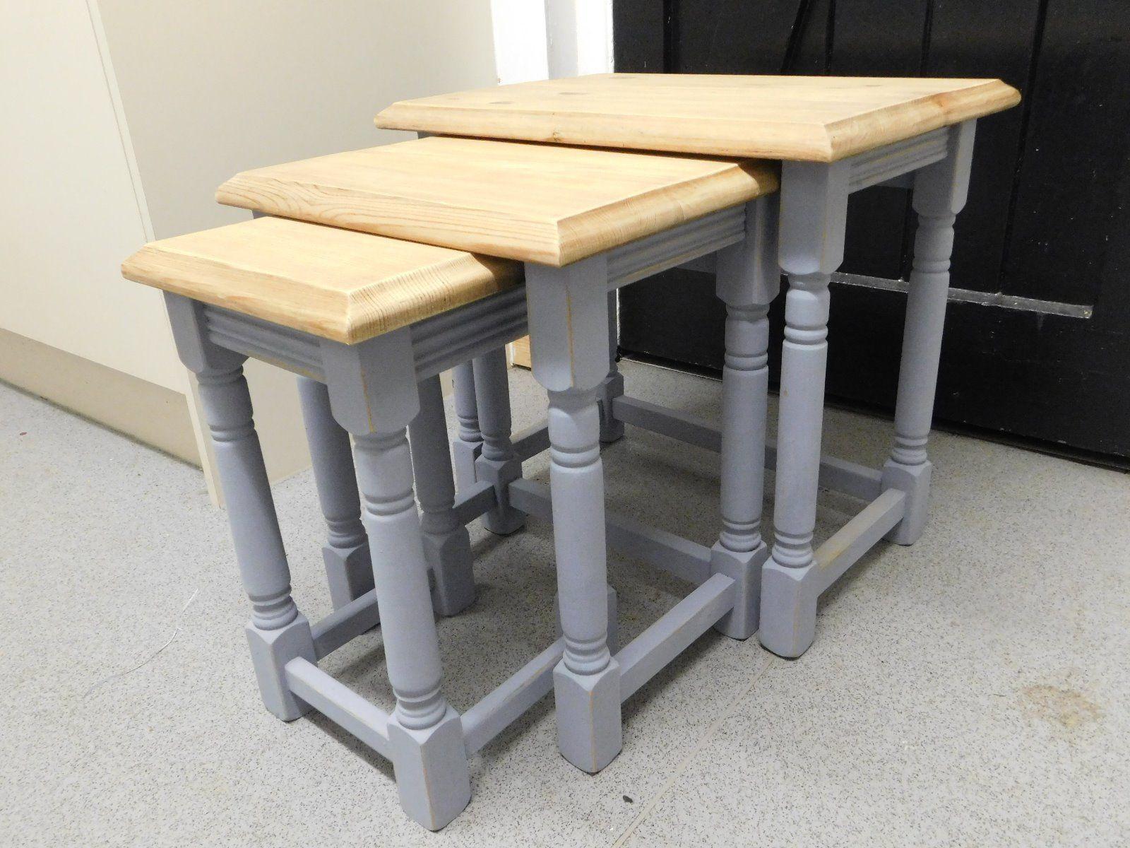 shabby chic nest of tables | eBay