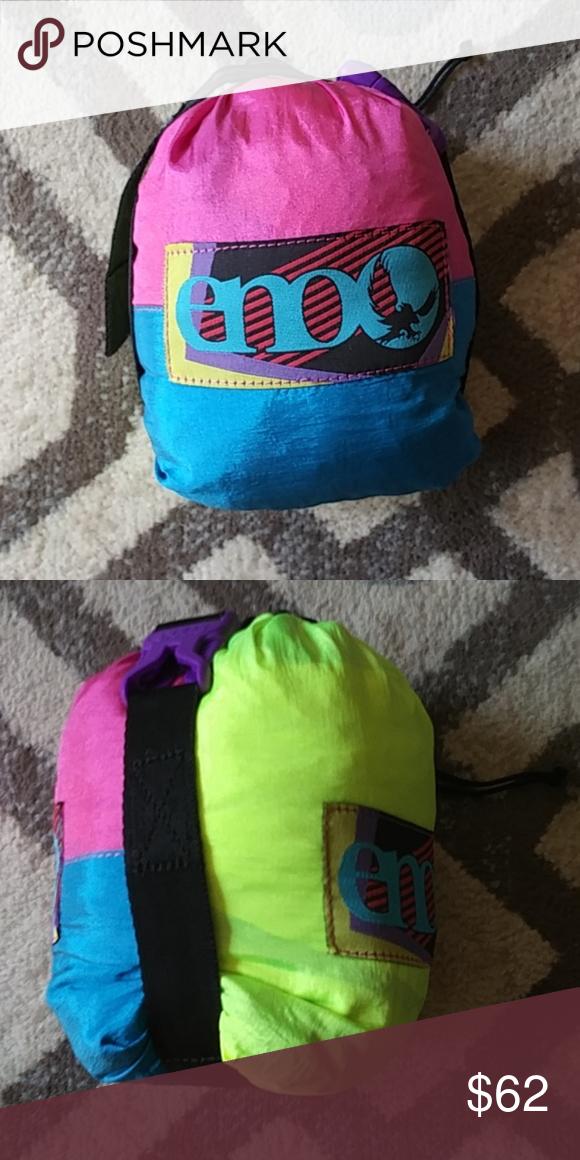 Eno Doublenest Retro Tri Color Hammock Retro Tri Color Clothes Design