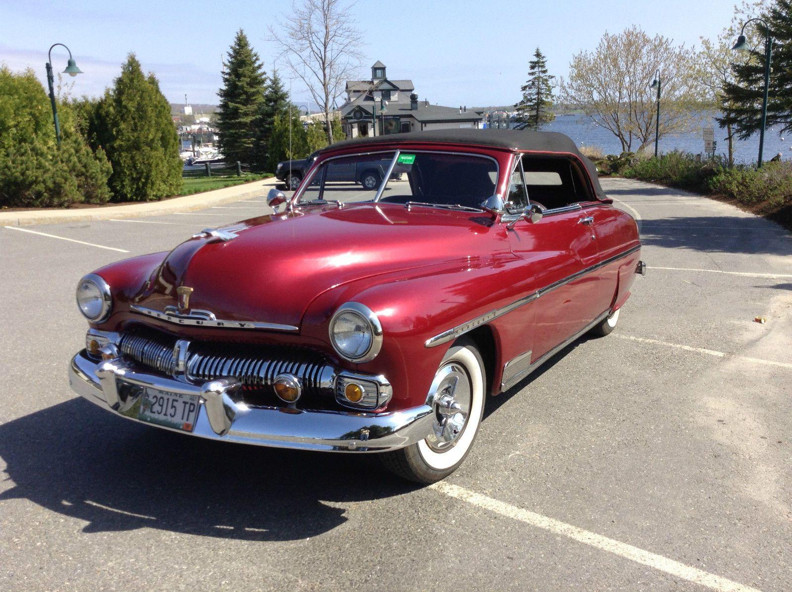 1950 Mercury Custom Convertible - CarBiid.com | Classic Cars for ...