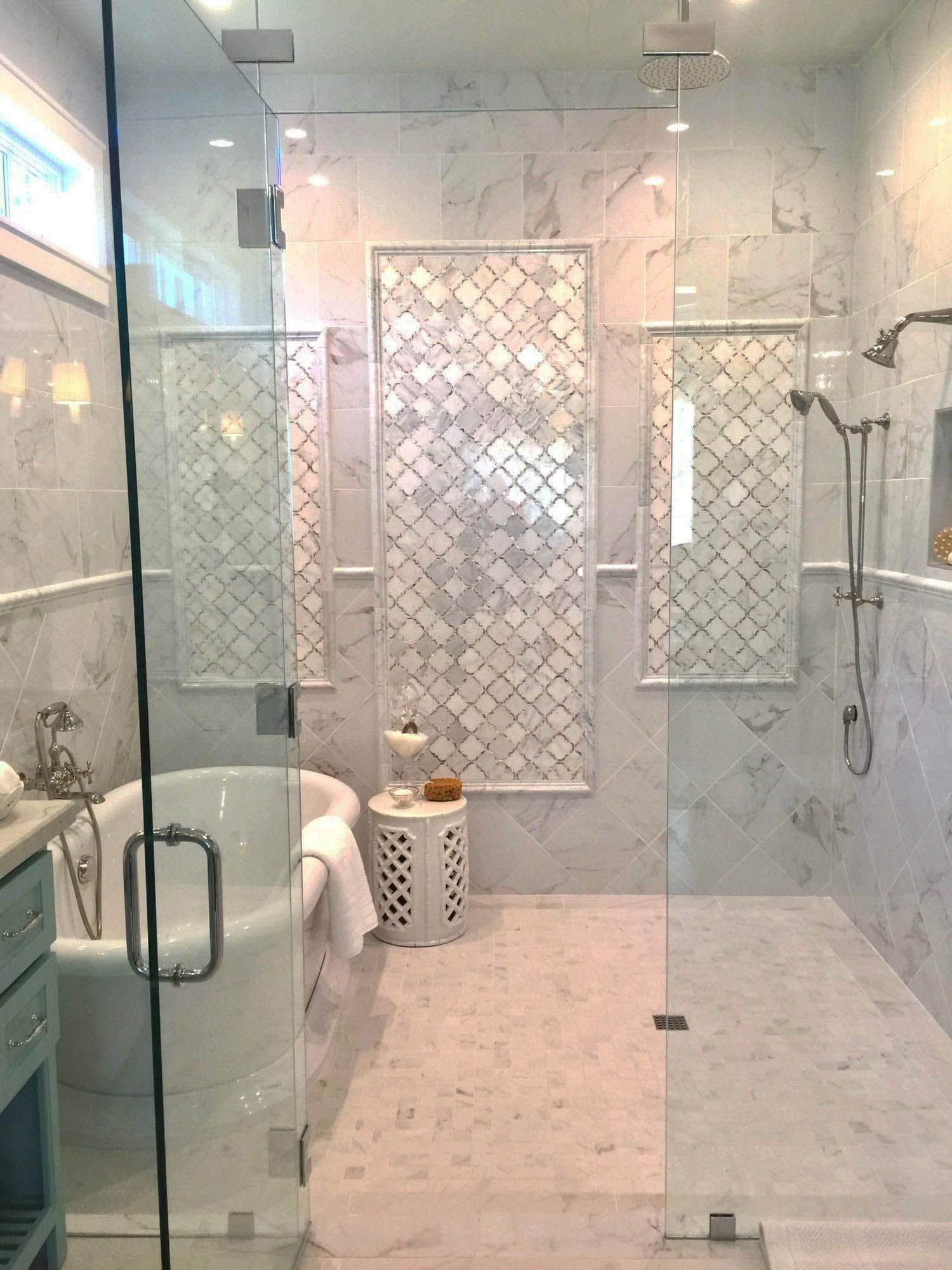 30 Contemporary Shower Ideas For Your Bathroom Bathroom Interior Bathroom Tile Designs Luxury Bathroom Shower