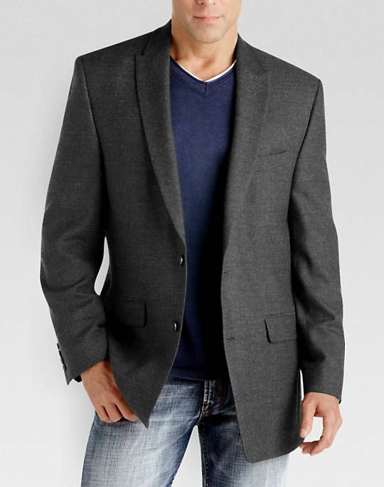 Calvin Klein Charcoal Slim Fit Sport Coat | Fashion | Pinterest ...