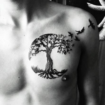 Photo of Tattoo tree wolf life 42+ best ideas