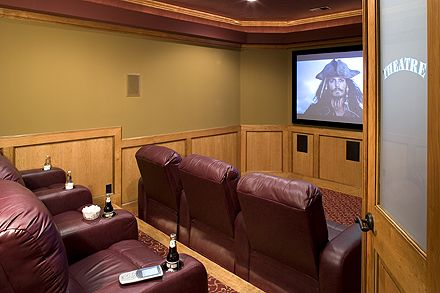 Home theaters have become very desirable.