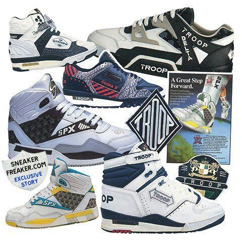 SPX TROOP FOOTWEAR   Retro trainers